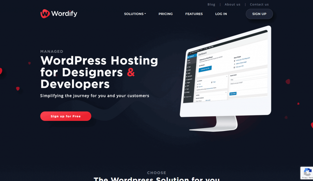 Wordify Home Page