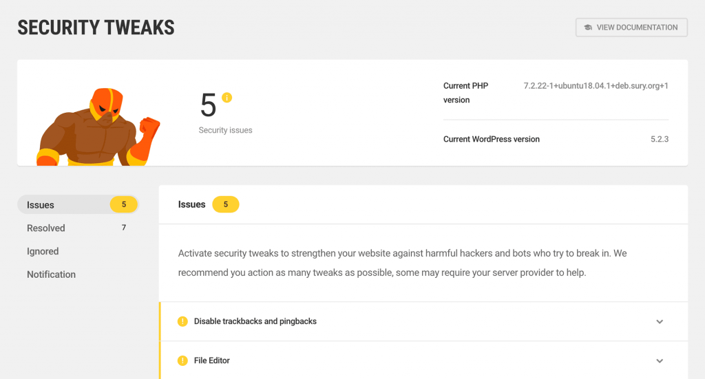 Easy setup and deployment of security features with Defender