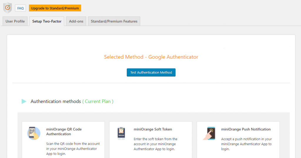 How to set up two-factor with Google Authenticator