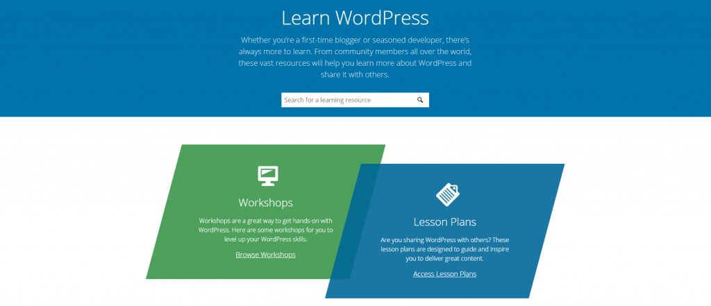 What is the Learn WordPress platform?